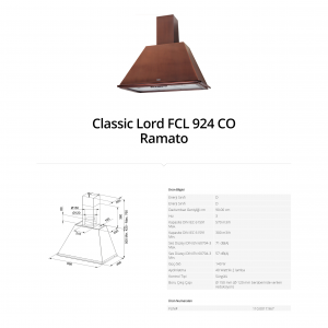 Franke Classic Lord FCL 924 CO Ramato